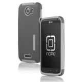 HTC One X Incipio Silicrylic Case - Gray/Gray