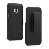 HTC One PureGear Holster Shield Combo - Black