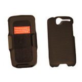 HTC Desire Holster Shield Combo - Black