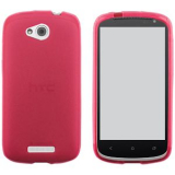 HTC One VX TPU Shield - Hot Pink