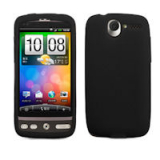 HTC Desire Silicone Shield - Black