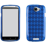 HTC One S TPU Shield - Blue
