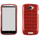 HTC One S TPU Shield - Red