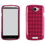 HTC One S TPU Shield - Pink
