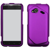 HTC Incredible 4G Snap On Shield - Purple