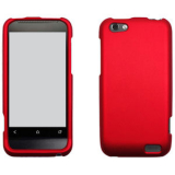 HTC One V Snap On Shield - Red