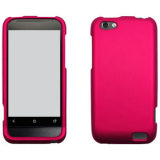 HTC One V Snap On Shield - Rose Pink