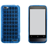 HTC One V TPU Shield - Blue
