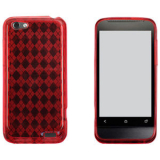 HTC One V TPU Shield - Red
