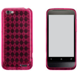 HTC One V TPU Shield - Hot Pink
