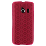 Huawei Ascend Y TPU Shield - Hot Pink