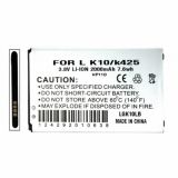 LG K10 Standard Replacement Battery - 2000mAh