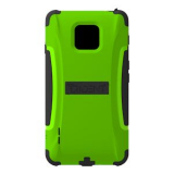 LG Optimus F7 Trident Aegis Series Case - Lime Green