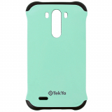 LG G3 TekYa Capella Series Case - Mint Green/Black