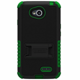 LG L70 Beyond Cell Tri Shield Case - Black/Green