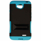 LG L70 Hopper Hybrid Case - Black/Blue