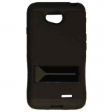 LG L70 Hopper Hybrid Case - Black/Black