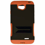 LG L70 Hopper Hybrid Case - Black/Orange