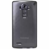 LG G4 PureGear Slim Shell Case - Clear/Black