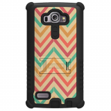 LG G4 Beyond Cell Tri Shield Case - Pastel Chevron