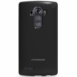 LG G4 PureGear Slim Shell Case - Black/Black