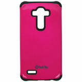LG G4 TekYa Capella Series Case - Hot Pink/Black