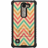 LG Escape 2/Logos Beyond Cell Tri Shield Case - Pastel Chevron