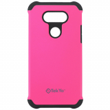 LG G5 TekYa Rigel Series Case - Hot Pink/Black