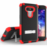LG G5 Beyond Cell Tri Shield Case - Black/Red