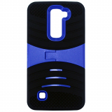 LG K7 Kickster Series Case - Black/Blue