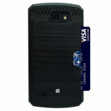 LG K4 Beyond Cell Shell Case Rugged Series Case - Black/Black