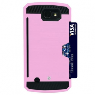 LG K4 Beyond Cell Shell Case Rugged Series Case - Rose Gold/Black