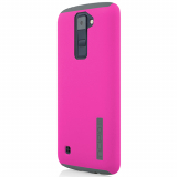 LG K8 Incipio DualPro Series Case - Pink/Charcoal