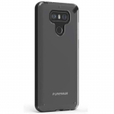 LG G6 PureGear Slim Shell Case - Clear/Black