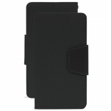 LG K8 2017 Beyond Cell Infolio Leather Case - Black/Black