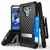 LG G6 Beyond Cell Tri Shield Kombo Case - Carbon Fiber