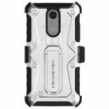 LG K8 2018 Ghostek Iron Armor Series Case - White