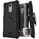 LG Stylo 4 Ghostek Iron Armor Series Case - Black
