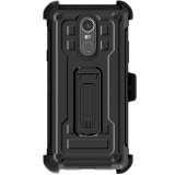 LG Stylo 4 Ghostek Iron Armor 2 Series Case - Black