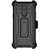 LG Stylo 5 Ghostek Iron Armor 2 Series Case - Black