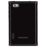 LG Intuition Tactic Body Glove Case - Black/Charcoal