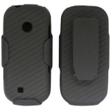 LG Cosmos 2 Holster Shield Combo - Black