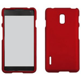 LG Optimus F7 Snap On Shield - Red