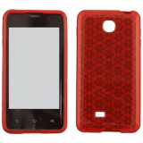 LG Escape TPU Shield - Red