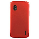 LG Nexus 4 TPU Shield - Red