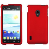 LG Lucid 2 Snap On Shield - Red