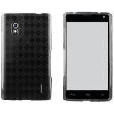 LG Optimus G TPU Shield - Smoke