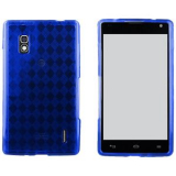 LG Optimus G TPU Shield - Blue