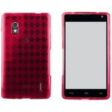 LG Optimus G TPU Shield - Hot Pink