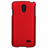 LG Lucid 3 Snap On Shield - Red